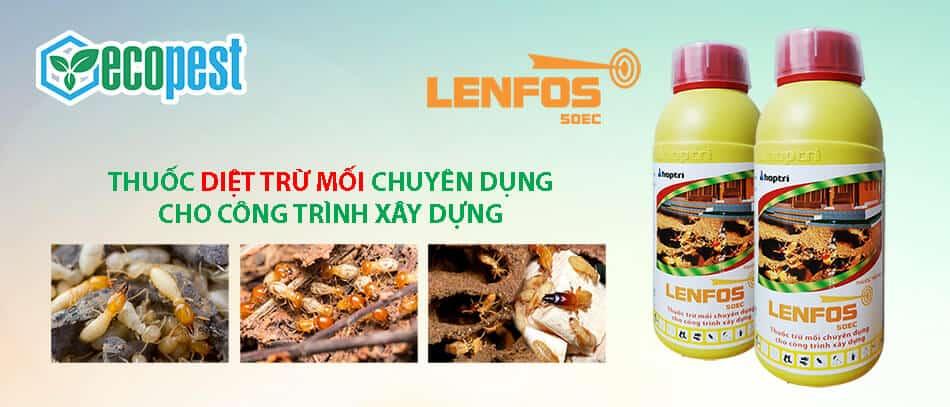 Lenfos 50EC 1 Lít thuốc diệt trừ mối