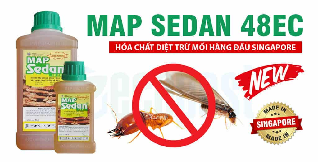 Map Sedan 48 EC thuốc diệt trừ mối