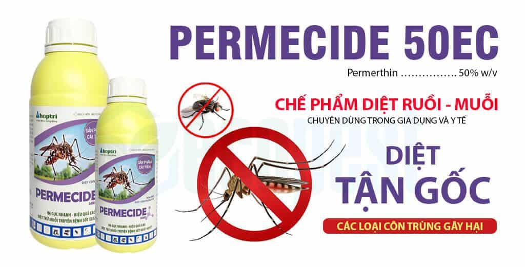 Permecide 50 EC thuốc diệt Ruồi, Muỗi