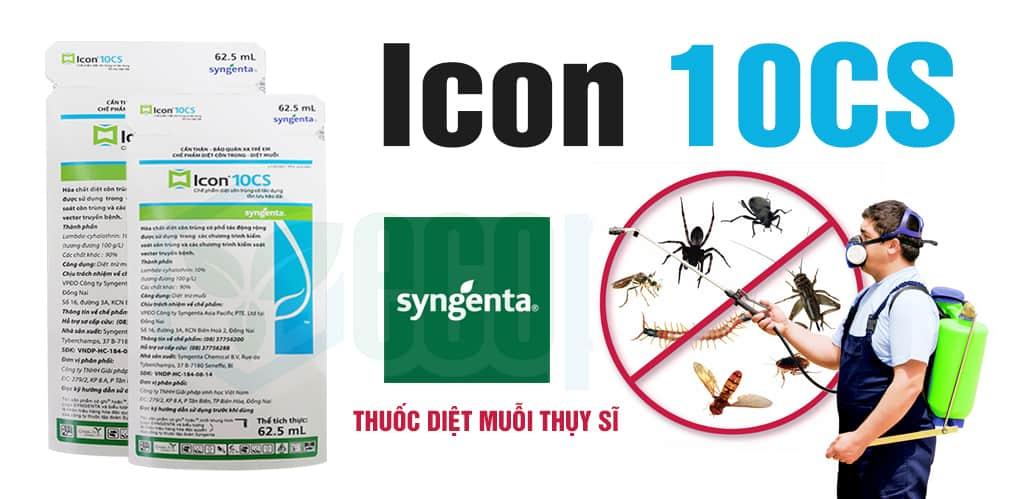 Thuốc diệt muỗi Icon 10CS Syngenta Thụy Sĩ