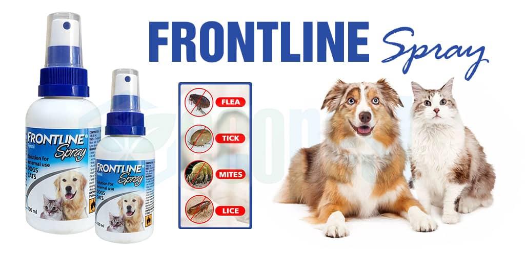Frontline Spray thuốc xịt ve rận chó mèo