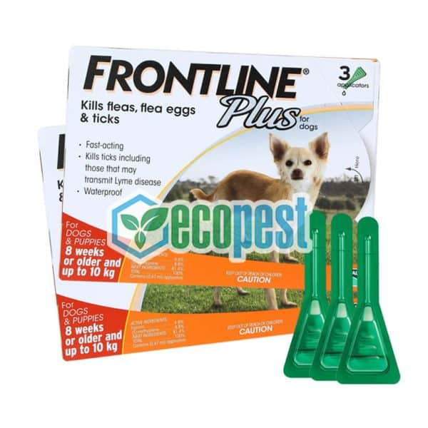 Frontline Plus trị ve rận bọ chét cho chó 10kg