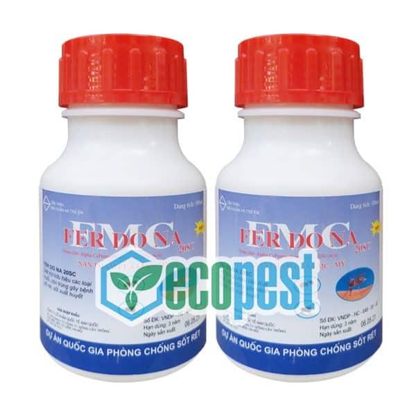 Ferdona FMC 20SC thuốc diệt muỗi Mỹ 100ml