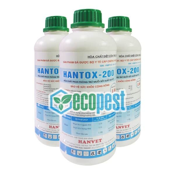 Hantox-200 1 Lít Bộ Y Tế