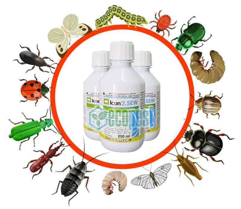 Icon 2.5ew thuốc diệt muỗi và côn trùng