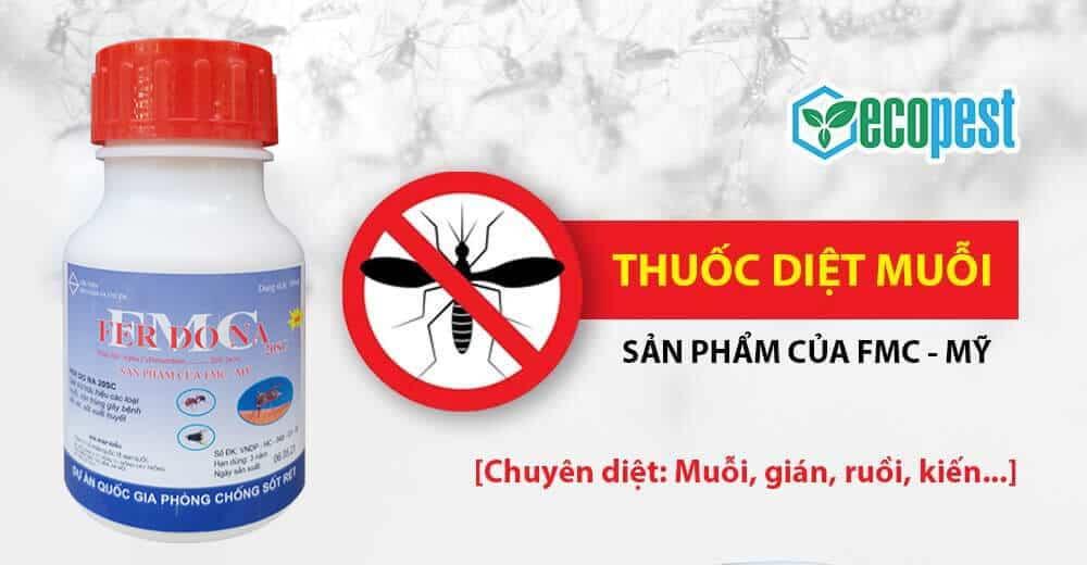 Thuốc diệt muỗi Ferdona FMC 20SC 100ml