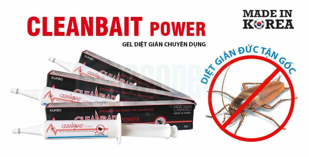 Cleanbait Power gel diệt gián Đức tận gốc