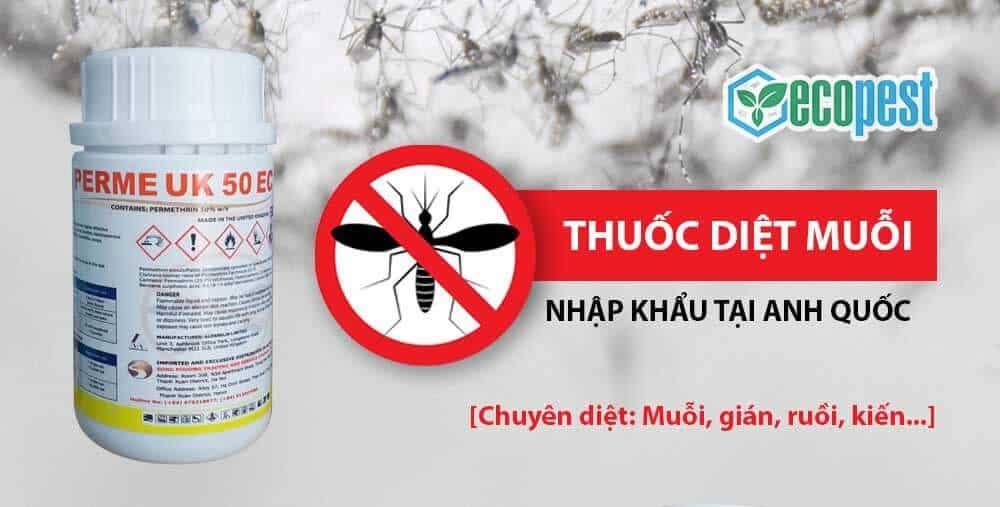 Thuốc diệt muỗi Perme UK 50EC 100ml nhập khẩu Anh Quốc