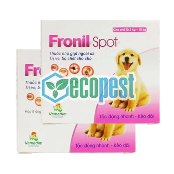 Fronil Spot thuốc nhỏ gáy trị ve rận bọ chét chó