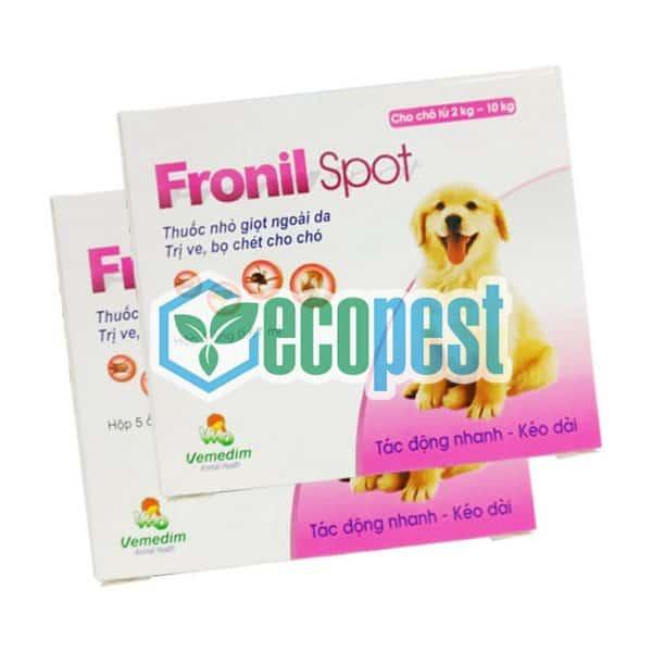 Fronil Spot thuốc nhỏ gáy trị bọ chét chó